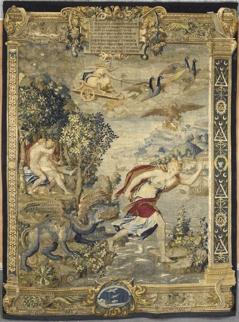 'Jupiter et Latone (Jupiter and Latona)', mid-16th century, Musée national de la Renaissance