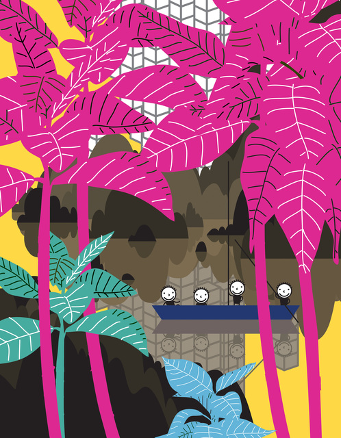 , 'My favorites-Pink Trees,' 2018, ATELIER AKI