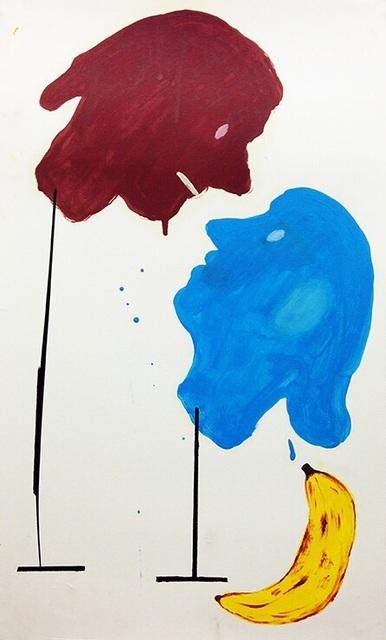 , 'Dos cabezas y un plátano,' 2014, Freight + Volume