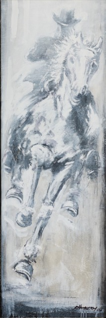 , 'Horse & Rider ,' 1995, Maddox Gallery