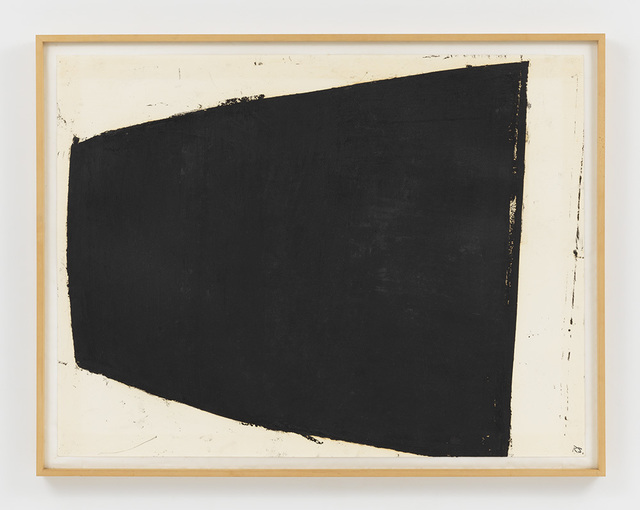 Richard Serra, 'Curve 2', 1981, Drawing, Collage or other Work on Paper, Paintstick on paper, Helwaser Gallery