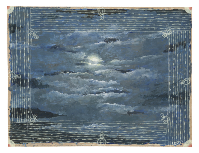 , 'The Moon Glinted Over the Clouds,' 2015, Nancy Hoffman Gallery