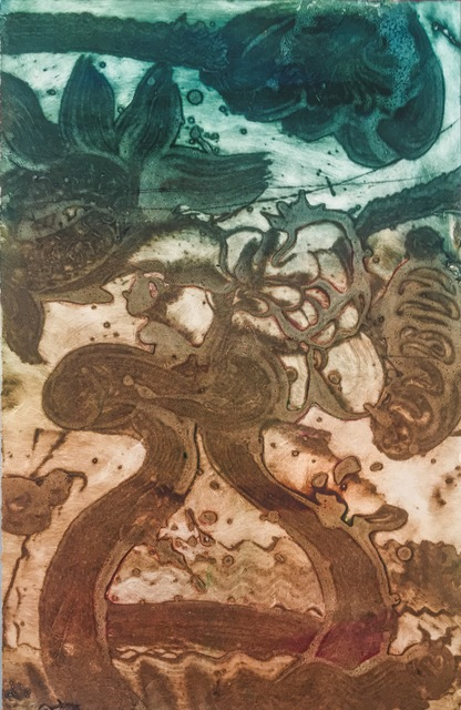 , 'Carborundum Monotype : Flowers III,' 2015, Cross Contemporary Partners