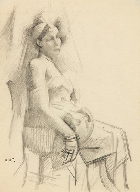 André Lhote, 'Seated Woman, c. 1920', ca. 1920, Heather James Fine Art