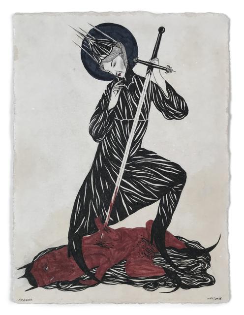 , 'EXCISION I,' 2018, La Luz de Jesus Gallery