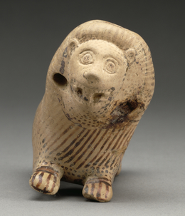 'Rattle in the Shape of a Recumbent Lion',  about 600 -575 B.C., J. Paul Getty Museum