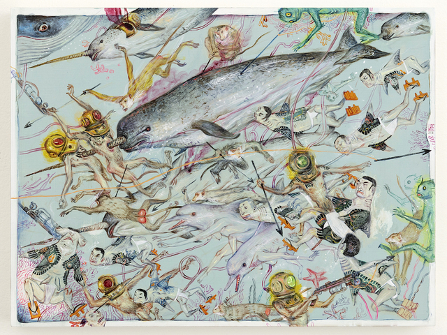 , 'Narwhal,' 2018, Joshua Liner Gallery