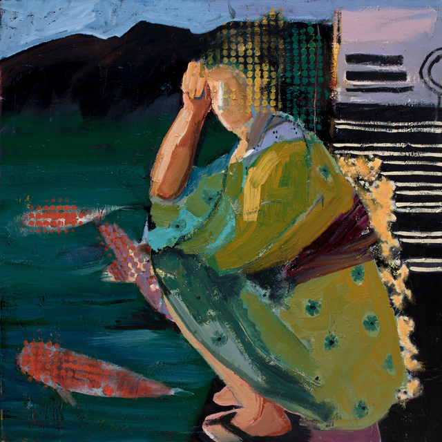 , 'Pause,' 2018, Sue Greenwood Fine Art