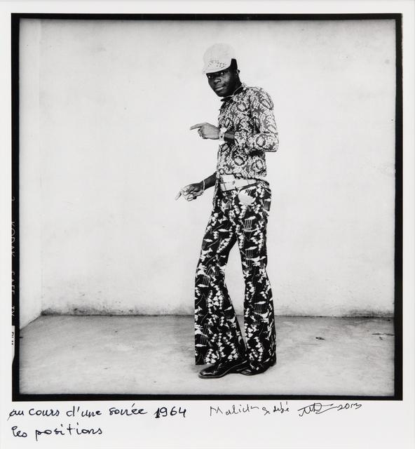 , 'Au cours d'une soirée, les positions,' 1964, Jack Shainman Gallery