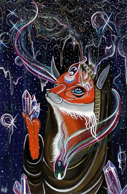 Gracey Ripa, 'Lunar Fox', 2018, Bitfactory Gallery