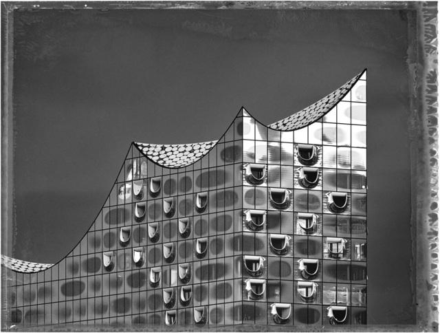 Christopher Thomas, 'Elbphilharmonie', 2019, Print, Pigment Print on Arches Aquarelle paper, Galerie Commeter / Persiehl & Heine