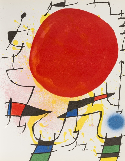 Joan Miró, 'Lithographe I-IV', 1972-1982, Forum Auctions