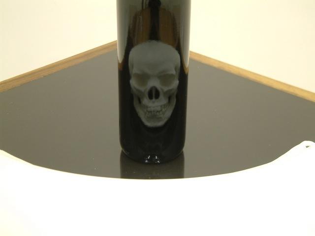 James Hopkins, 'Bottle and Skull', 2014, CHOI&LAGER