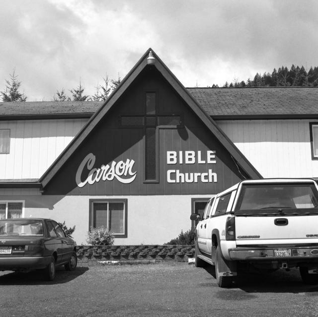 , 'Carson Bible Church,' 2018, Flatland Gallery