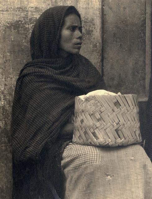 , 'Woman and Basket, Patzcuaro, Mexico,' 1933, Charles Isaacs Photographs, Inc