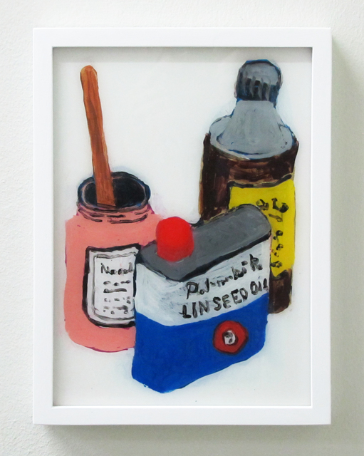 , 'Linseed Oil And Turbs,' 2016, V1 Gallery