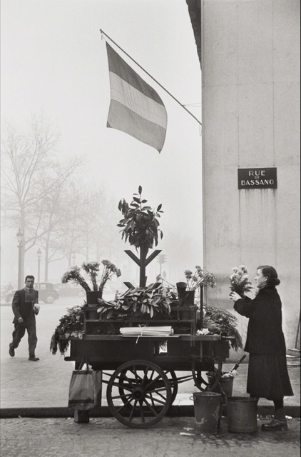Henri Cartier-Bresson, 'Rue de Bassano, 8th Arrondissement, Paris', 1953, Huxley-Parlour