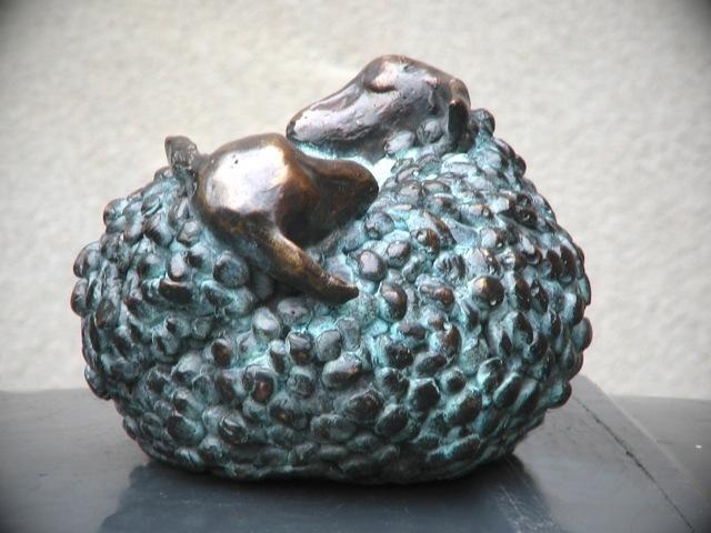 , 'Slapende schaapjes (Sleeping sheeps),' 2009, GrachtenGalerie