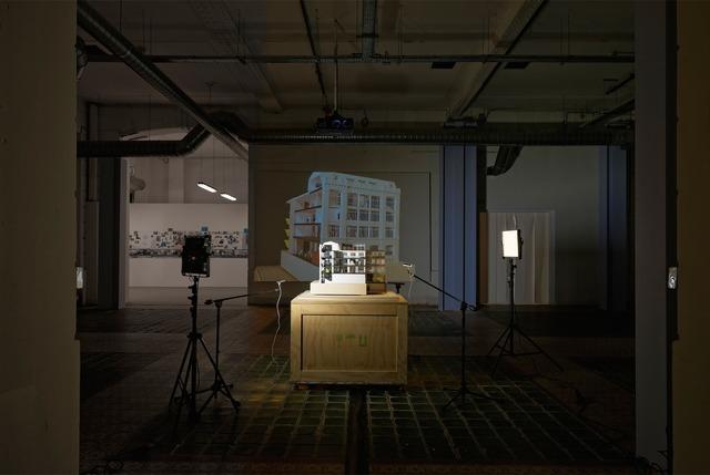 , 'Reveal, Points de vue sur la maquette,' 2014, Fondation d'Entreprise Galeries Lafayette