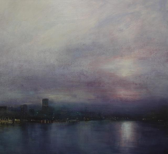 Benjamin Warner, 'Still Evening, Hong Kong Harbour', 2019, Tanya Baxter Contemporary