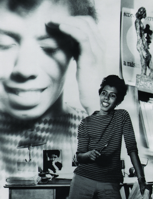 , 'Lorraine Hansberry,' ca. 1960, Keith de Lellis Gallery