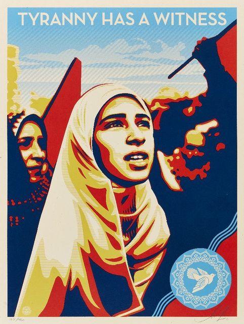 Shepard Fairey, 'Tyranny Has A Witness', 2011, Roseberys
