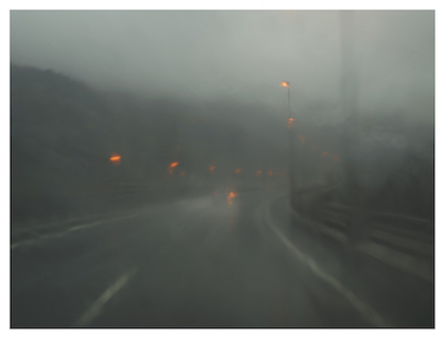 , 'Autoroute des Titans. A40, Bellegarde-sur-Valserine, From the Series, Zone De Repli,' 2014, East Wing