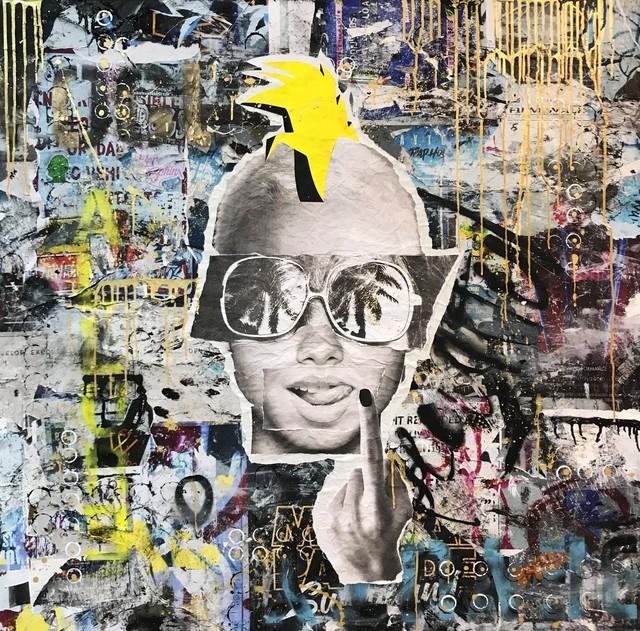, 'Punk,' 2018, 9 Strokes Gallery
