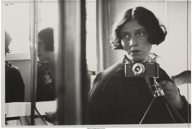 Ilse Bing, 'Self Portrait in Mirror', 1931, Heritage Auctions