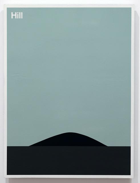 Julian Montague, 'Hill', 2016, Resource Art