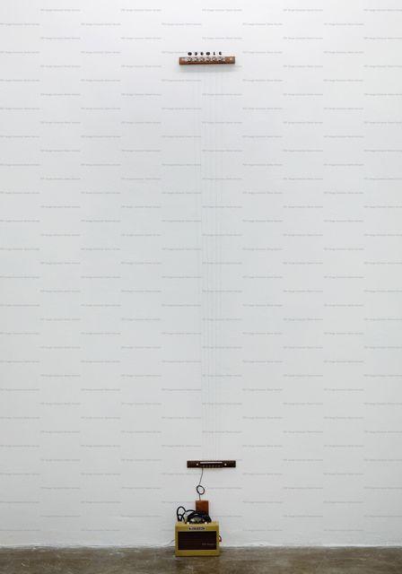 , 'DESENHO SONORO,' 2012, Galería Vermelho