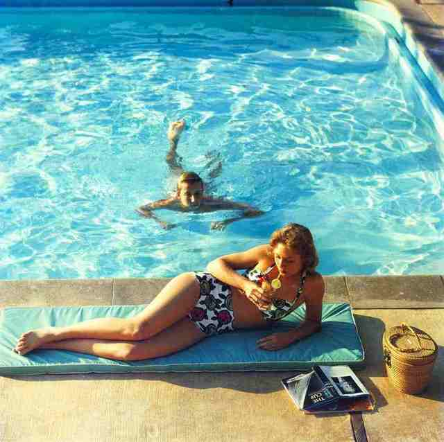 Slim Aarons, 'Poolside At Laguna Beach', 1957, IFAC Arts