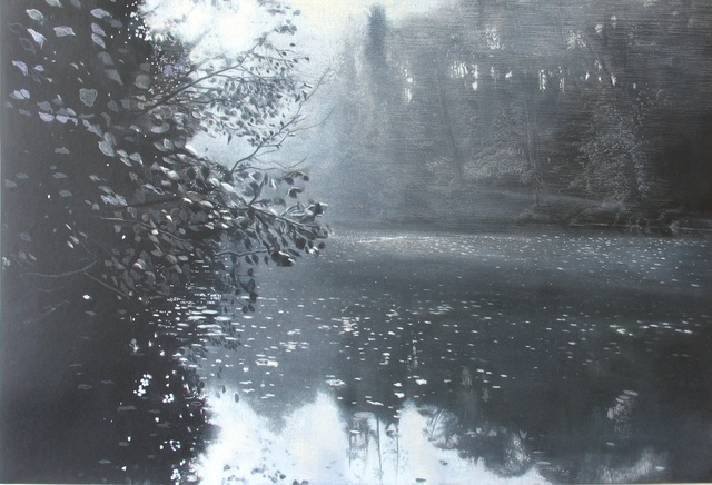 , 'Abbots Pool February,' 2015, Rebecca Hossack Art Gallery