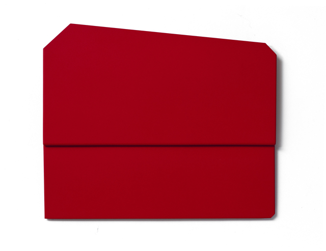 , 'Red Folded Flat 06,' 2015, Häusler Contemporary