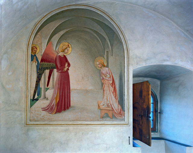 , 'Annunciation by Fra Angelico, Cell 3, Museum of San Marco Convent, Florence, Italy,' 2010, Kasmin