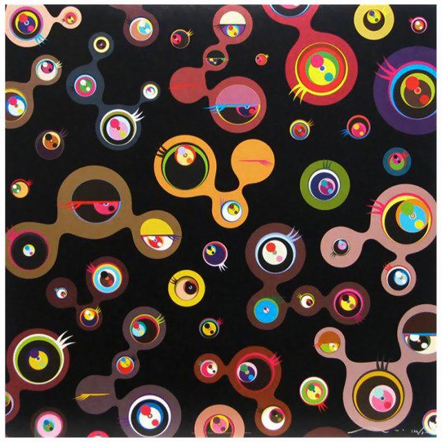 Takashi Murakami, 'Jellyfish Eyes /Black 4', 2006, Graeme Jackson