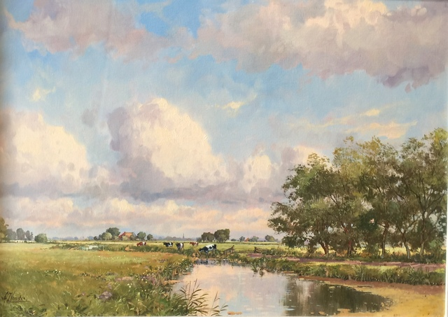 , 'Dutch Landscape,' , Cosmopolitan Fine Arts