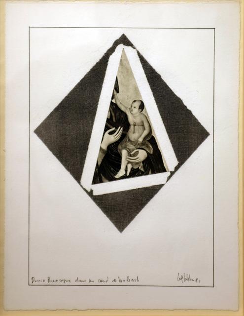 , 'Duccio Buoninsegna dans le carré de Malevich,,' 1981, espaivisor - Galería Visor