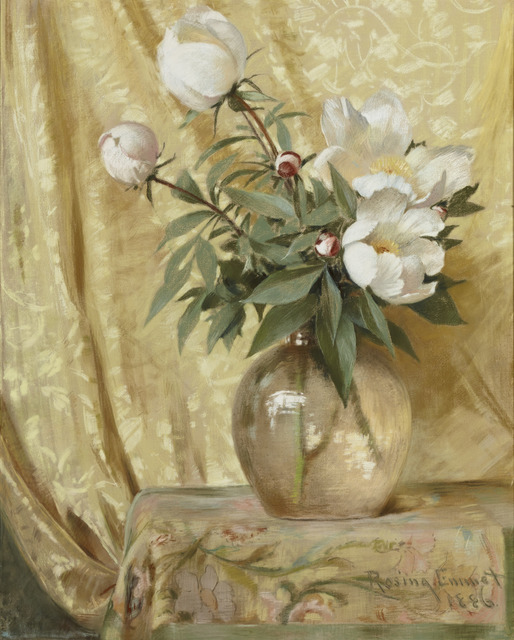 , 'Peonies,' 1886, Avery Galleries