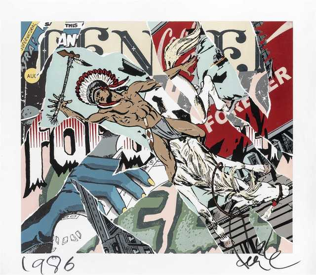 FAILE, 'Tender Forever', 2008, Tate Ward Auctions