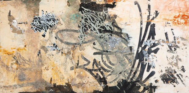 """José Parlá, 'Soy Guogiro """"Vivo en el Monte y Tango un Sitio en la loma""""', 2004, Heritage Auctions"""