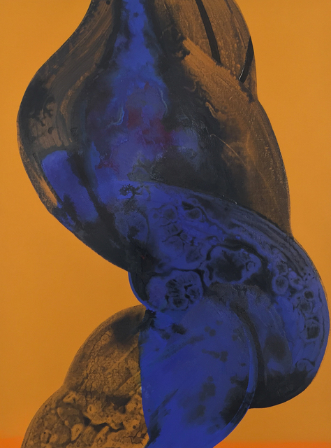 , 'Blue Twist,' 2015, 532 Gallery Thomas Jaeckel