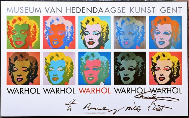 """Andy Warhol, 'Marilyn 1964, hand signed and inscribed """"to Beverly Hills Brat"""" by Andy Warhol', ca. 1985, Alpha 137 Gallery"""