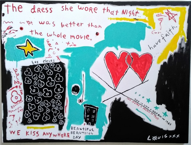 , 'The Dress She Wore,' 2017, Bruce Lurie Gallery