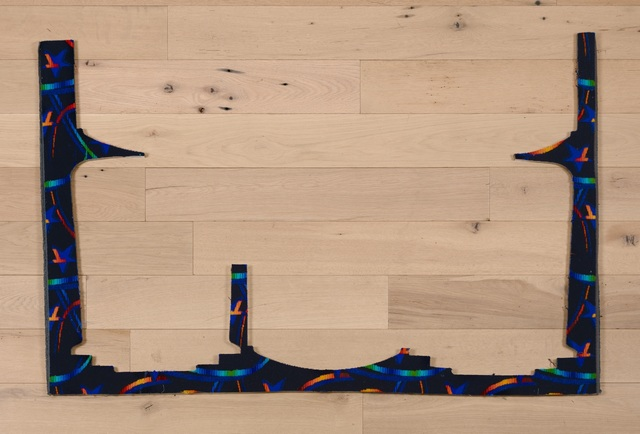 , 'Untitled (Dark Blue),' 2017, MARTOS GALLERY