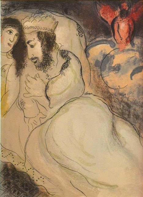 Marc Chagall, 'Sarah and Abimelech', 1960, Wallector