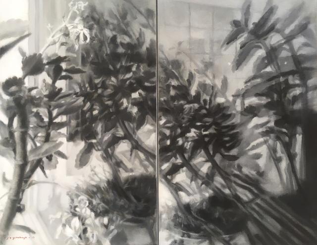 , 'Meinersen Künstlerhaus: Reflection Study I,' 2017, Barnard