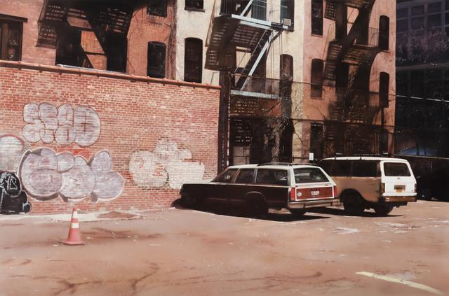 , 'SoHo Parking Lot,' 2016, Louis K. Meisel Gallery