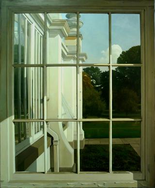 , 'Through the window,' , Sala Parés