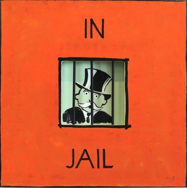 , 'Uncle Pennybags In Jail,' 2014, Artspace Warehouse
